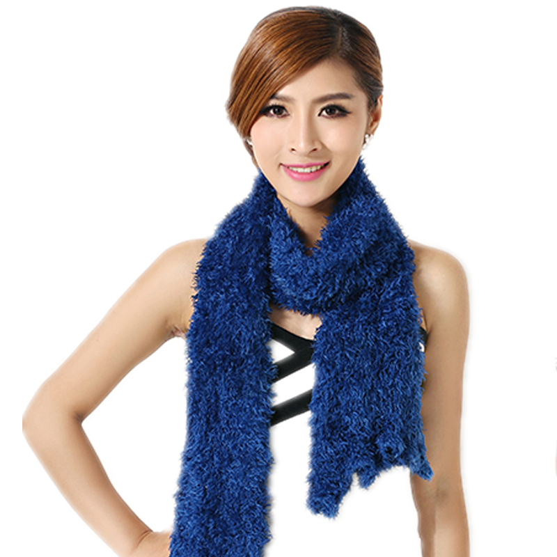 Super Soft Scarf Magic Scarf Multi-Colored Purple Navy /& Teal