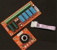 Wz - 15 relé 4 sinais de áudio interruptor de áudio júri de entrada de PCB e da placa final