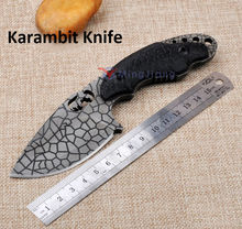 Claw Karambit Knife FOX Fixed 8Cr18Mov Blade Knife G10 Handle Survival Tactical Knifes Hunting Camping Knives Outdoor Tools K333