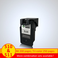 XiangYu PG510 PG 510 PG 510 XL Refilled BLACK Ink Cartridge For Canon iP2700Pixma MP250 480