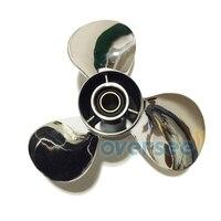 OEM 20 30hp 664 45954 01 EL 00 Stainless Steel Propeller SIZE 9 7 8 12