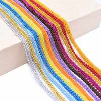 5/10m 8mm Multicolor Centipede Braided Lace Trim Ribbon for Party Decoration DIY Crafts Clothes Sewing Fabric Accessories