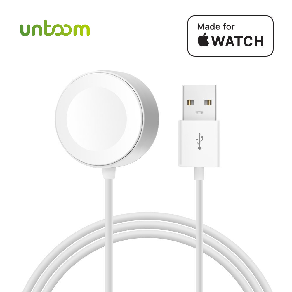 Wireless Charger for iWatch Series 2 3 USB MFi Certified Magnetic iWatch Charging Cable 3.3 feet/1meter for Apple Watch Charger