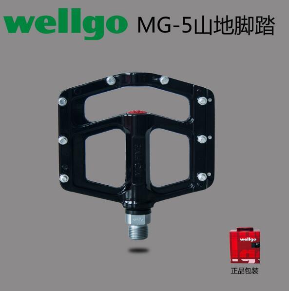 Wellgo MG-5 ultra-léger en alliage de magnésium scellé roulement pédales vtt vélo Bmx Pedales Bicicleta vtt pièces 7 couleurs