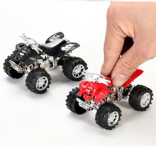 цена на 1* Diecasts Vehicles Mini Motorcycle Cars Children Boys Alloy Beach Motorcycle Simulation Farmer Sliding Toys Car Model Kid Toy