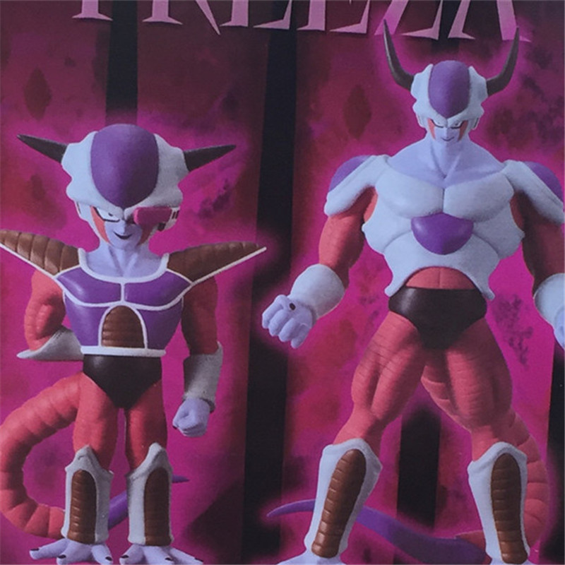 1pc/lot Dragon Ball Action Figures Frieza 1/Frieza 2 Figures Toys Japanese Anime Dragon Ball PVC Collection Model Doll Toy 18cm new hot 18cm one piece donquixote doflamingo action figure toys doll collection christmas gift with box minge3