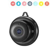 Bezprzewodowa kamera wifi bezpieczeństwo w domu nadzór Mini HD 720P noktowizyjna kamera ip USB Wi Fi IPcam Baby Pet Monitor Wi Fi Camera w Kamery nadzoru od Bezpieczeństwo i ochrona na