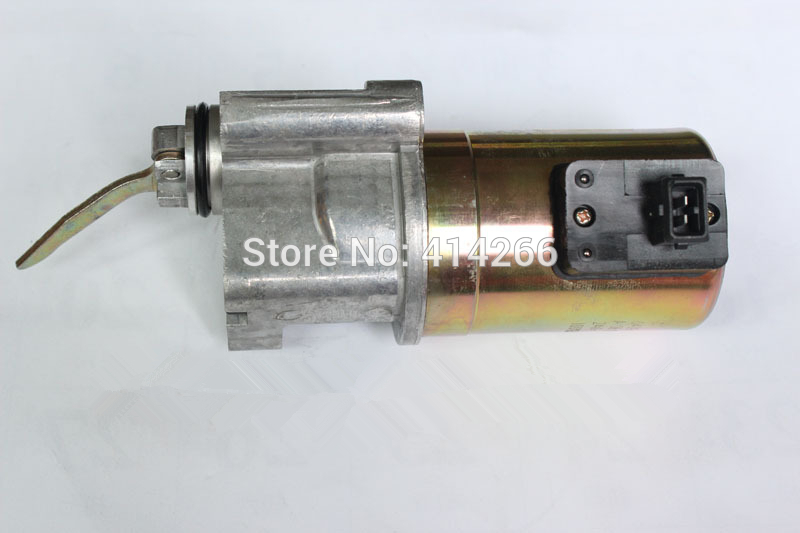 1013 2012 Engine Fuel shutdown stop solenoid valve 04199905 fuel shutdown solenoid valve 332 j5060 its for jcb excavator 24v stop solenoid