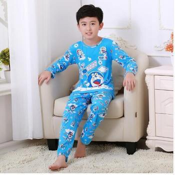 New 2020 Cartoon Kid Pyjamas Spring Autumn Boy Pajamas Set Children christmas Kids Clothing boy sleepwear