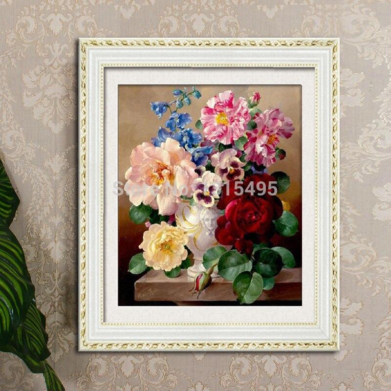 bleu Tianya Lot de grandes fleurs de luxe /à faible co/ût pour porte