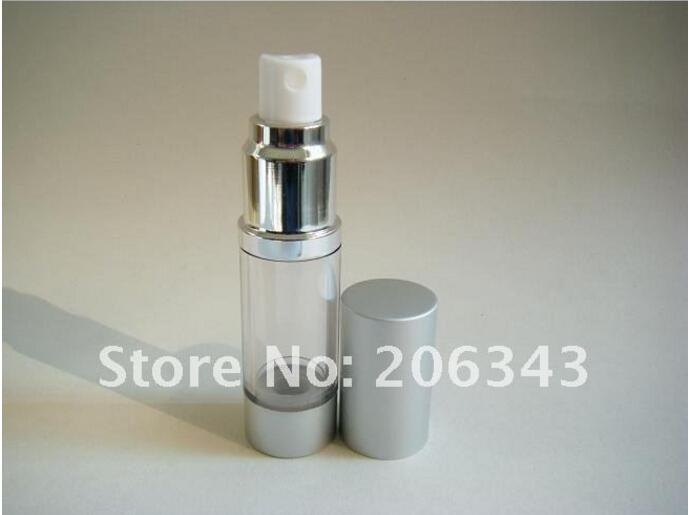 500pcs 30ML airless bottle or plastic lotion bottle with airless pump can used for Cosmetic Packaging
