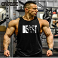 Sexy gymtank top New Bodybuilding Golds  Singlet  Skull NO PAIN NO GAIN Fitness Muscle Men Tight Workout Tank top musculation