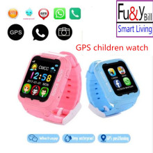 K3 Children GPS SmartWatch MTK2503 Contact Display screen Deep Waterproof Google Map SOS Button Sensible Watch For Youngster GPS Locator Pk Q90 Q50