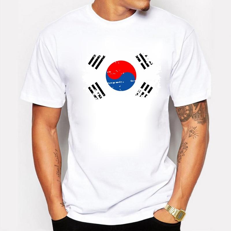̿̿̿(•̪ )Blwhsa Corea Ventiladores Cheer T Camisas para los hombres ...