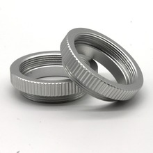 100 pieces Macro C Mount Ring Adapter For 25mm 35mm 50mm CCTV Movie Lens M4/3 NEX Camera silver free shipping