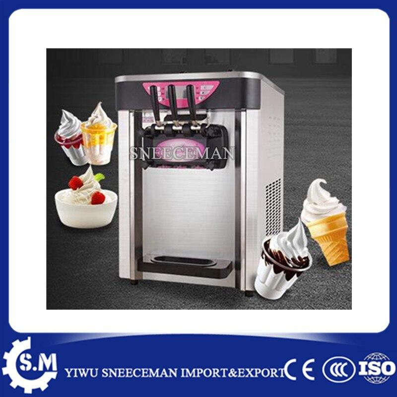 24-30L/H Soft serve Ice Cream machine table Ice Cream Vending Machine commercial soft ice cream making vending machine  недорого