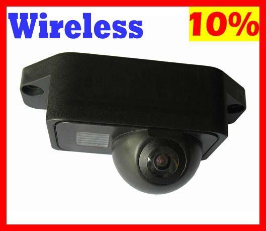 wireless Car Rear View Camera Rearview Reverse Backup for TOYOTA PRADO 2007 2008 2009 2010 parking assist reversing system