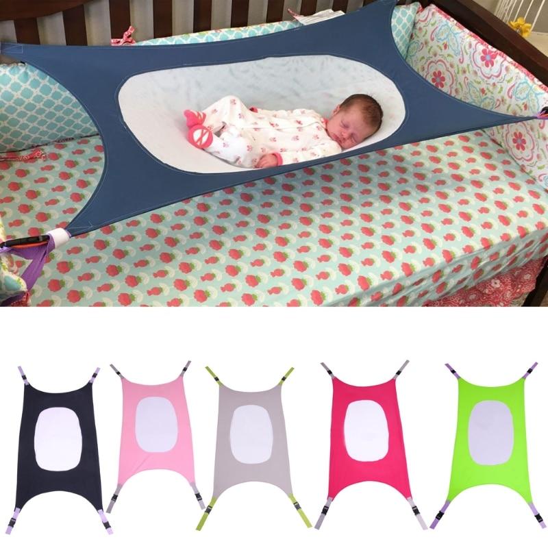 Seguridad Infantil hamaca bebé recién nacido de los niños desmontable MUEBLES CAMA portátil cubierta colgante al aire libre oscilación del jardín del asiento