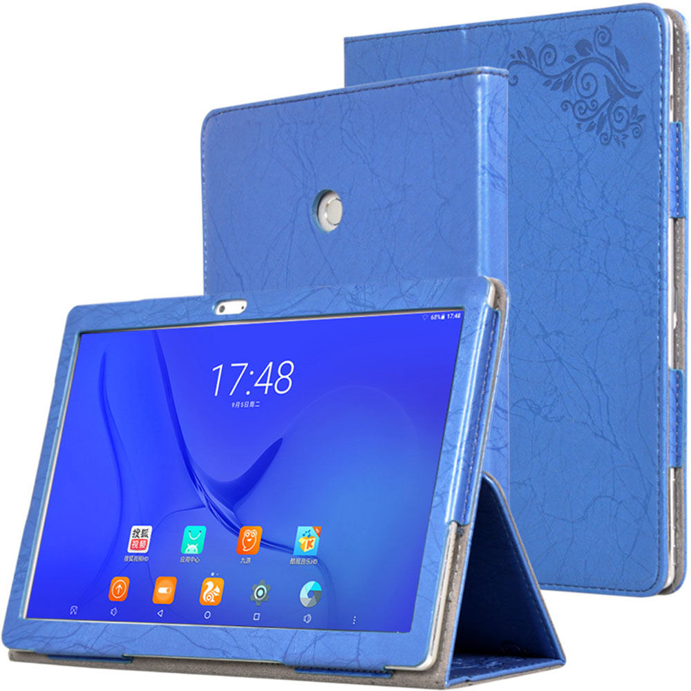 For Teclast T10 Case Luxury PU Leather Auto Sleep Wake Up Cover Capa For Teclast T20 E3C5 10.1inch Tablet Case And Free Stylus