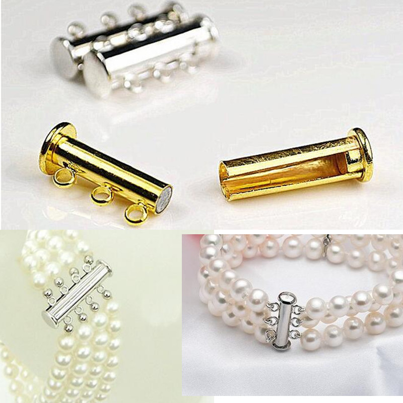 Diy Jewelry Accessories Magnetic Clasp  Leather Cord   Jewelry Findings Fitting Jewelry Findings 5 Pcs