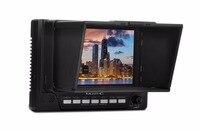 Musthd 5 дюймовый ЖК дисплей HDMI на камеры поле трансляции директор Видео Мониторы с Focus Assist маркер накладные Цвет
