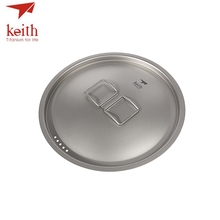 Keith Titanium 4-5 Person 6L Large Camping Pot