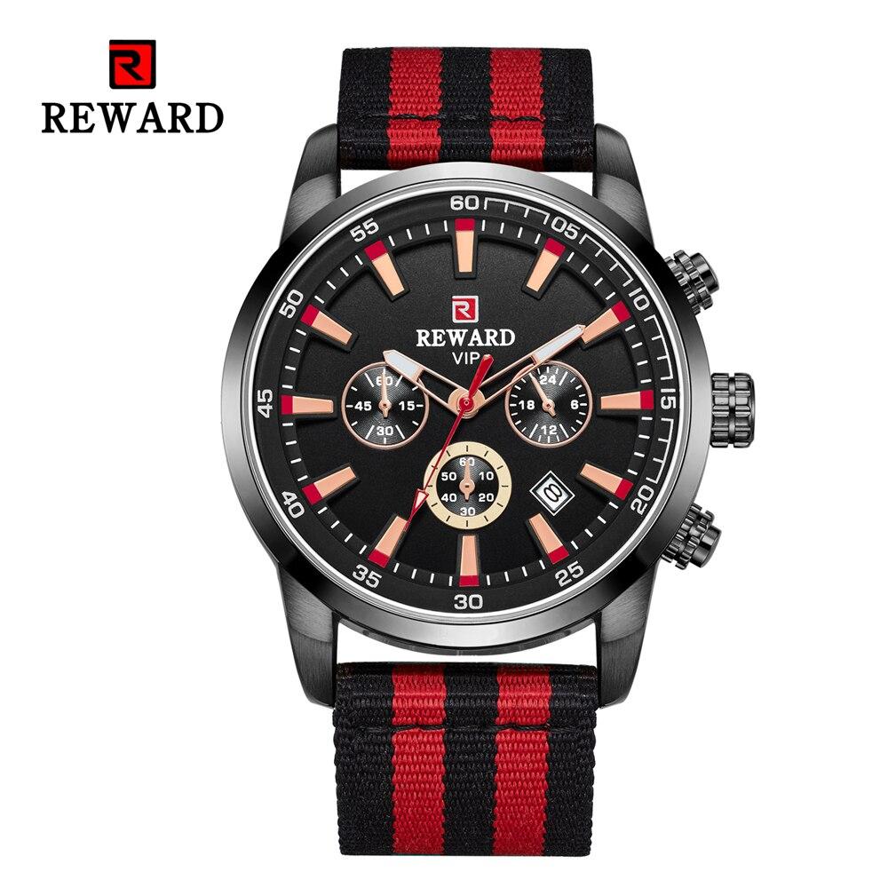 Quartz Men Watches Fashion Canvas Chronograph Watch Clock for Gentle Men Male Students Reloj Hombre free shipping 2019 (27)