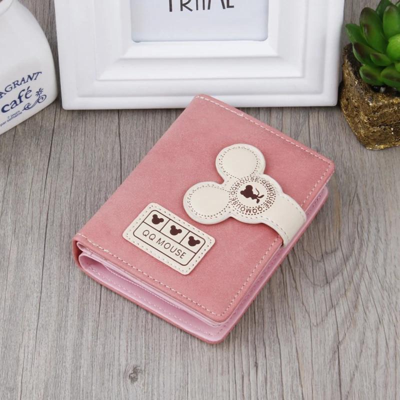 2018 New Fashion Ladies Wallet Girls Qq Mouse Clutch Bag High End Female Models Purse Multi Card Short Paragraph Wild Small Bag Wallets Aliexpress