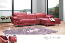 Sofá seccional moderno del estilo superior genuino cuero muebles de la sala 8207