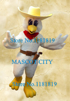 Professional cool cowboy chicken mascot costume custom chicken theme anime cosplay costumes advertising mascotte fancy dress