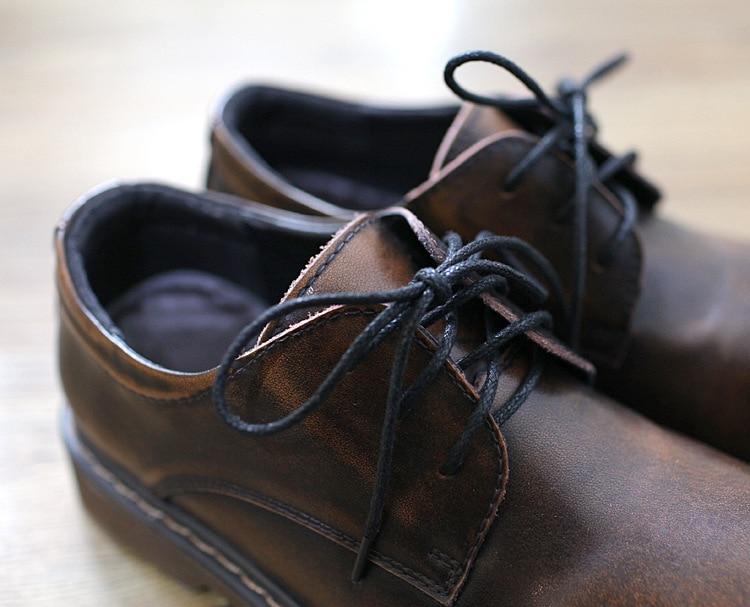 Villus black Villus Style Britannique Careaymade Cuir Profonde Main Le En nouveau brown brown Pur À Véritable Oxford Chaussures La 2018 Bouche Peu Black ChaussuresRétro Confortable 0nNOPXw8k