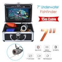 Eyoyo 7 Color Monitor 15m CMOS Professional Fish Finder Underwater Ocean Fishing Video Camera 1000TVL 3