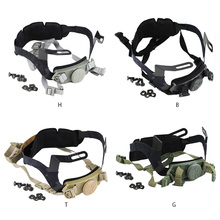 цена на Tactical Fast Helmet Adjustable Strap Hunting Wargame Helmet Inner Locking Strap System Military Airsoft Helmet Accessories