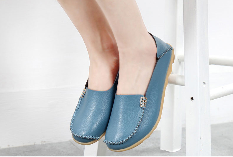 AH912 (30) women's loafers shoe