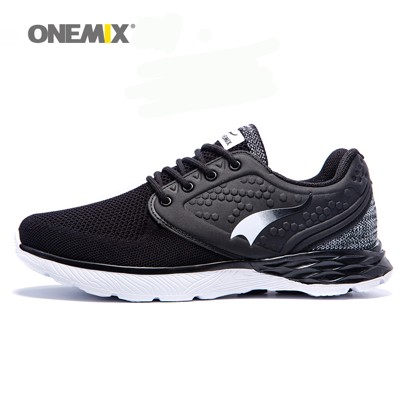 Onemix 2017 men's running shoes summer cool walking sneakers for men breathable mesh anti-skid rubber outsole jogging sneakers 2017 kids summer shoes new air mesh for children holes candy color slip on unisex breathable running fashion sport cool sneakers