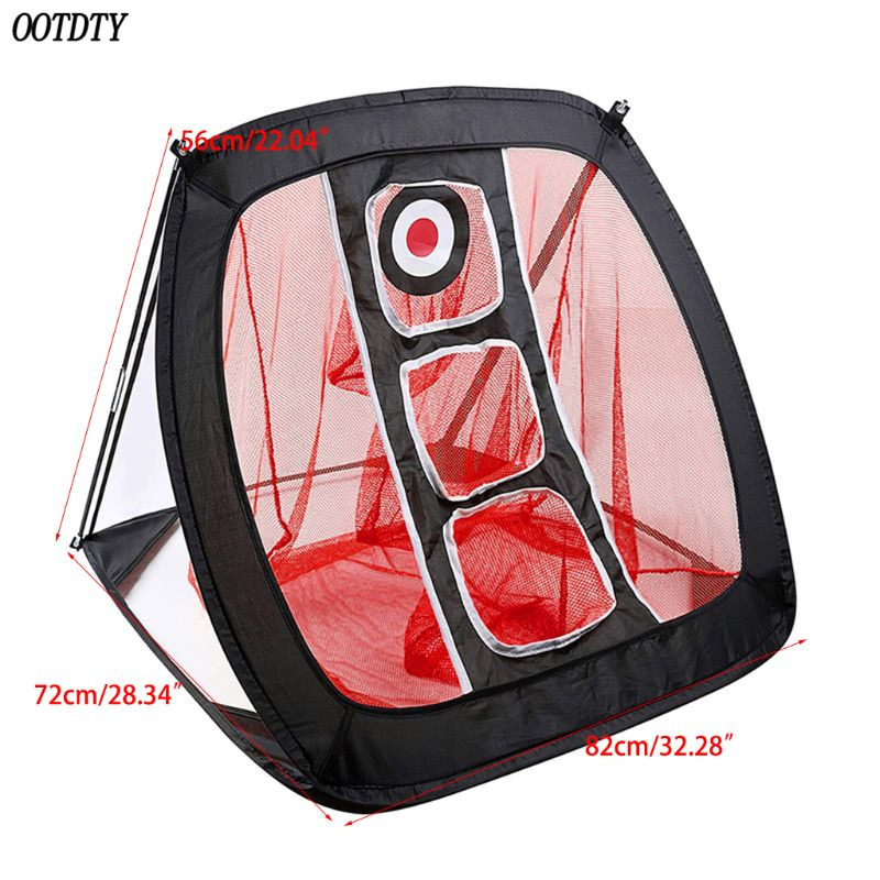 Image 5 - OOTDTY Golf Chipping Net Portable Foldable Outdoor Indoor Target Practice Aid-in Golf Training Aids from Sports & Entertainment
