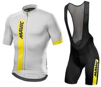 Mavic 2017 Cycling Jersey Summer Team Short Sleeves Cycling Set Bike Clothing Ropa Ciclismo Cycling Clothing