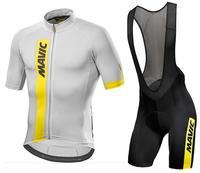 Mavic 2017 Cycling Jersey Summer Team Short Sleeves Cycling Set Bike Clothing Ropa Ciclismo Cycling Clothing