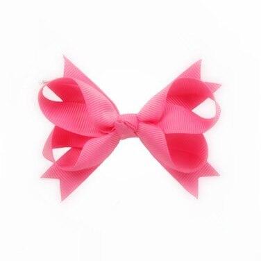 100pcs lot New Arrival Factory Make Bulk kids Girls hair accessories HairBows Clips Light pink