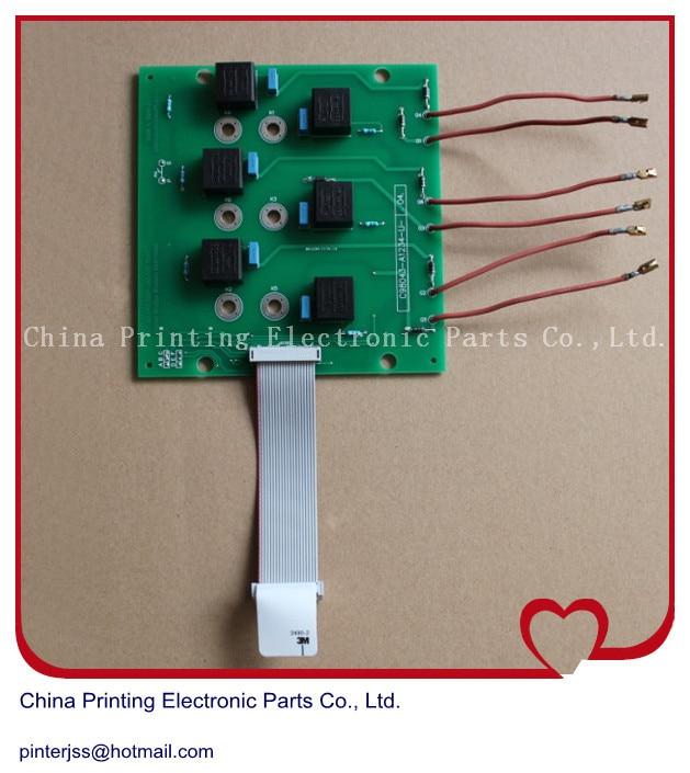 все цены на heidelberg MO VP offset printing machine card C98043-A1234-L1-.53. онлайн