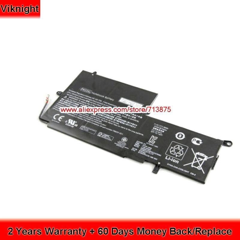 X360 Convertible Battery For HP PK03XL Spectre 13 XT Pro 789116-005