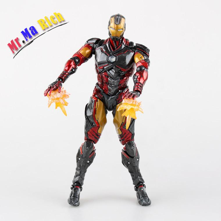 Film Figure 35 cm Square Enix Variant Play Arts Kai Iron Man Action Pvc Figure Collection Modèle Jouet