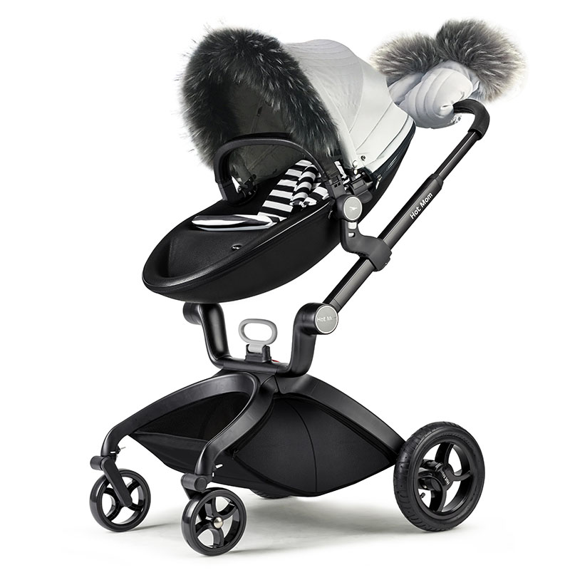 Hot mom Stroller accessories Baby stroller covers, gloves, face. Hot mom stroller winter suit