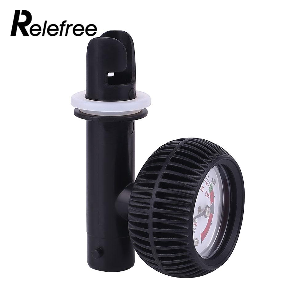 Pressure Test Pressure Gauge Inflatable Boat Air Pump Gas Water Black ABS For Kayak Boat Accessories Marine Boat Fishing one piece figure anime super master stars piece portgas d ace pvc action figure collectible model toy 31 5cm kt4828
