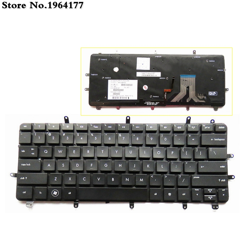 New For HP 13-2120tu 13-2101tu  13-2100 13-2100ed 13-2157NR 13-2095ca  English Laptop Replace Keyboard US With Backlit