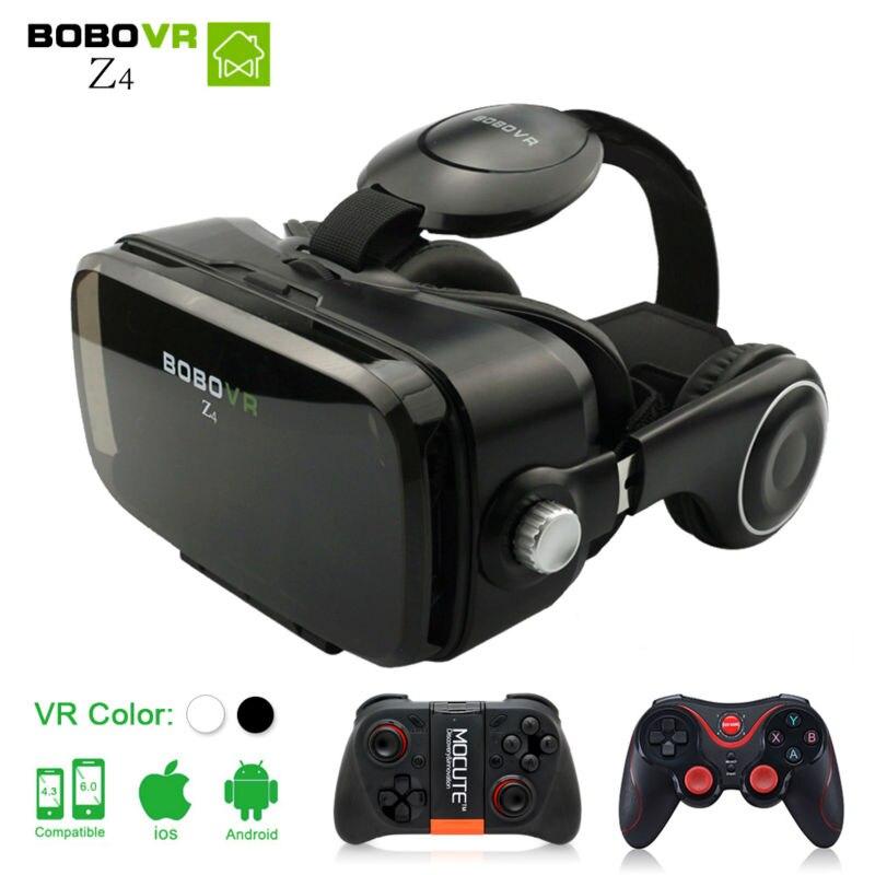 BOBOVR Z4 <font><b>VR</b></font> <font><b>BOX</b></font> 2.0 <font><b>Virtual</b></font> <font><b>Reality</b></font> goggles 3D <font><b>Glasses</b></font> <font><b>google</b></font> <font><b>Cardboard</b></font> bobo <font><b>vr</b></font> z4 with headset For 4.3-6.0 inch smartphone