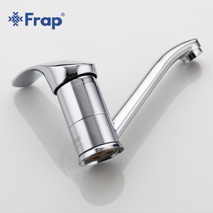 Image 3 - Frap New Arrival Kitchen Faucet Chrome Brass Single Handle 360 Degree Rotation Hot and Cold Water Classic Kitchen Sink Tap