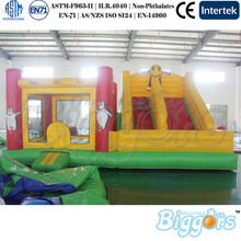 Factory Direct Sale En71 And En14960 Certificated Bounce House Inflatable Bouncy Castle Slide Combo
