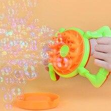 Автоматическая машина для пузырей Электрический вентилятор воздуходувка дети Крытый Открытый вечеринки игрушки креативная полипористая свадебная машина