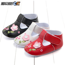 2019 New Summer Baby Boys Shoes Soft  Boy Leather Breathable Hollow Out Slippers First Walkers Soled
